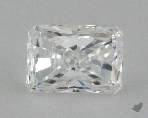 0.85 Carat D-SI2 Radiant Cut Diamond 