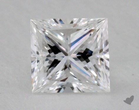 1.02 Carat E-IF Ideal Cut Princess Diamond
