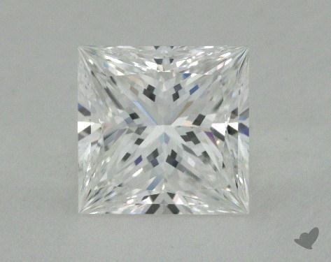 1.69 Carat E-VS1 Ideal Cut Princess Diamond