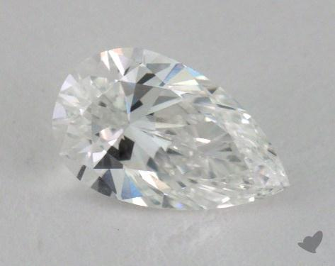 0.80 Carat D-VS1 Pear Shape Diamond