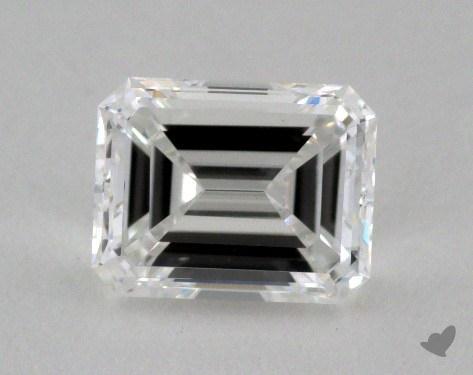 0.83 Carat E-VS1 Emerald Cut Diamond