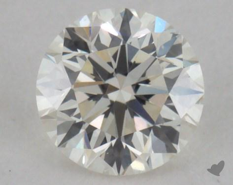 0.32 Carat K-VS1 Very Good Cut Round Diamond