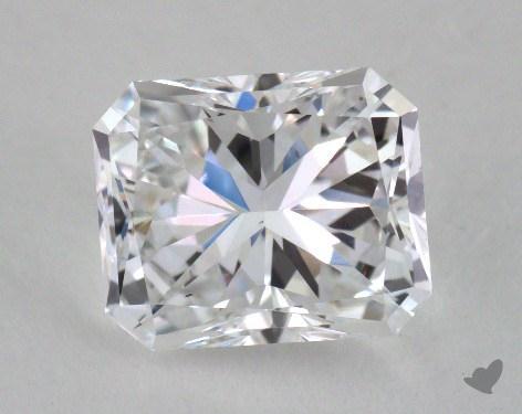 1.52 Carat D-VS1 Radiant Cut Diamond