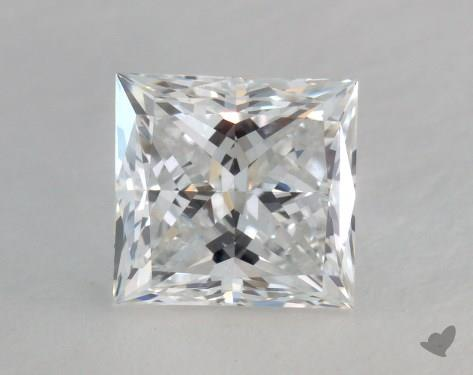 1.51 Carat E-VVS2 Ideal Cut Princess Diamond