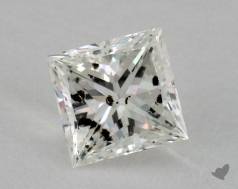 0.60 Carat I-I1 Princess Cut Diamond