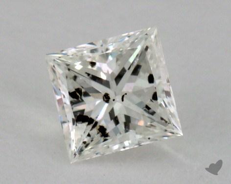 0.60 Carat I-I1 Ideal Cut Princess Diamond