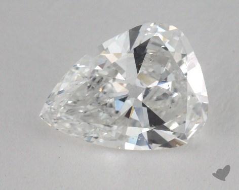 1.47 Carat D-SI2 Pear Shape Diamond