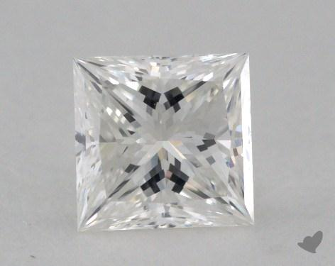 0.54 Carat H-VS1 Ideal Cut Princess Diamond