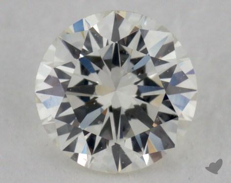 0.36 Carat K-VVS2 Excellent Cut Round Diamond