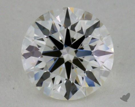 0.88 Carat H-VVS1 True Hearts<sup>TM</sup> Ideal Diamond