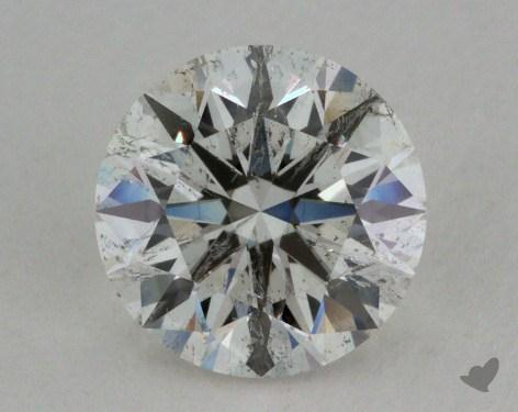 0.92 Carat I-SI2 Ideal Cut Round Diamond