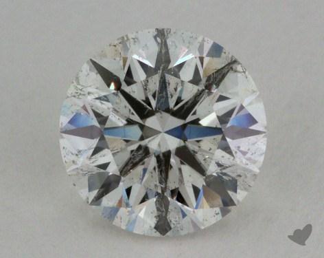 0.92 Carat I-SI2 Ideal Cut Round Diamond