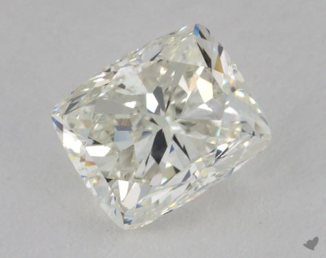 2.00 Carat J-SI1 Cushion Cut Diamond
