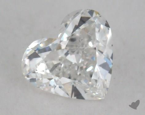 0.92 Carat E-SI1 Heart Shaped  Diamond