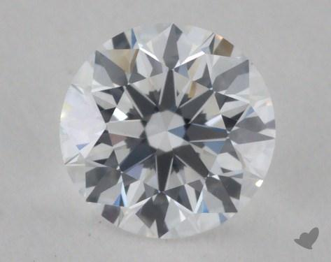 0.67 Carat D-VS2 True Hearts<sup>TM</sup> Ideal Diamond