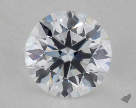 0.56 Carat D-VS2  True Hearts<sup>TM</sup> Ideal  Diamond