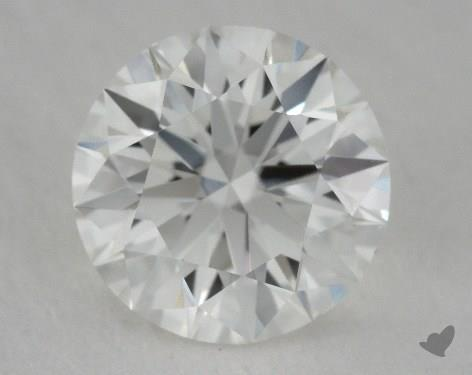 0.73 Carat H-VVS2 True Hearts<sup>TM</sup> Ideal Diamond