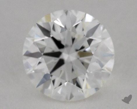 0.73 Carat G-VVS2 True Hearts<sup>TM</sup> Ideal Diamond