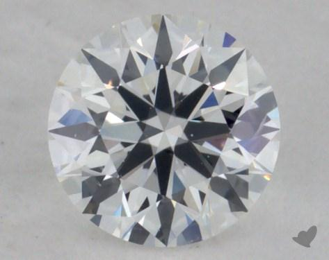 0.41 Carat E-SI1 Ideal Cut Round Diamond