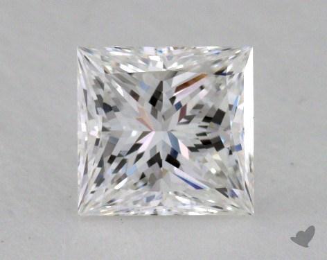 1.03 Carat F-VVS1 Ideal Cut Princess Diamond