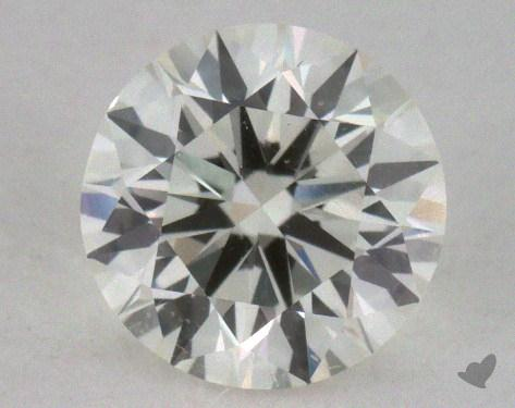 0.72 Carat I-SI1 Excellent Cut Round Diamond