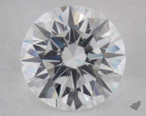 1.04 Carat D-IF Excellent Cut Round Diamond