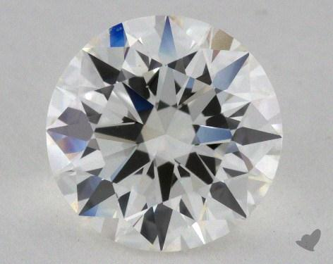 2.01 Carat H-VS1 Excellent Cut Round Diamond 