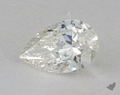 1.01 Carat I-SI2 Pear Cut Diamond