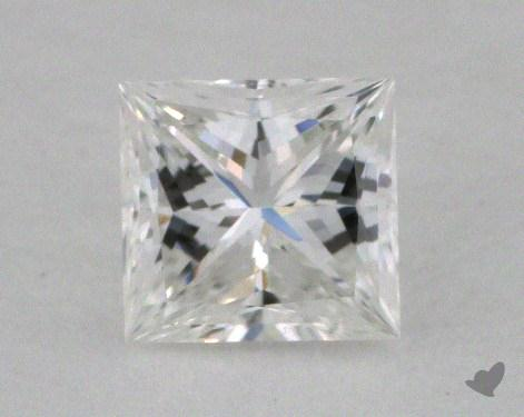 0.42 Carat E-VVS1 Ideal Cut Princess Diamond