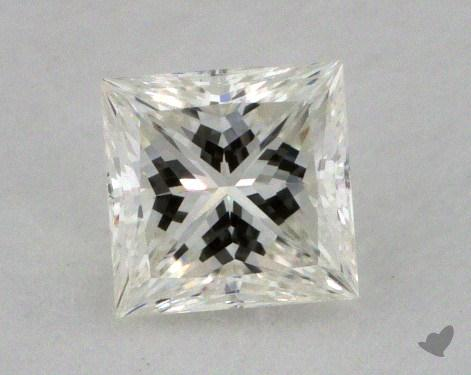 0.36 Carat I-VVS1 Ideal Cut Princess Diamond