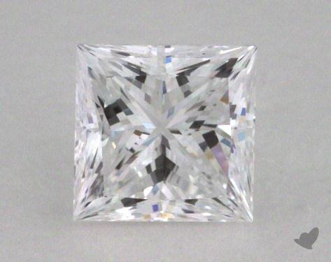 0.51 Carat D-VS1 Ideal Cut Princess Diamond