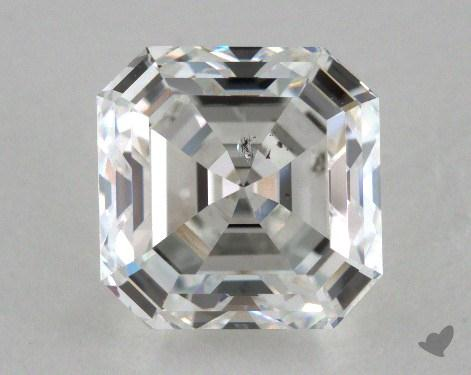 2.03 Carat F-SI1 Asscher Cut Diamond