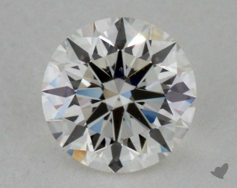0.79 Carat H-SI1 True Hearts<sup>TM</sup> Ideal Diamond