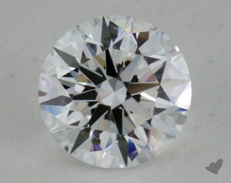 0.82 Carat D-SI1 True Hearts<sup>TM</sup> Ideal Diamond