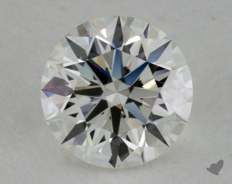 0.79 Carat I-VVS2 True Hearts<sup>TM</sup> Ideal Diamond