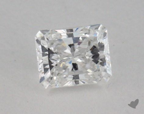 0.37 Carat E-VVS2 Ideal Cut Princess Diamond