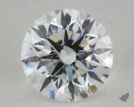 1.24 Carat E-SI2 Excellent Cut Round Diamond