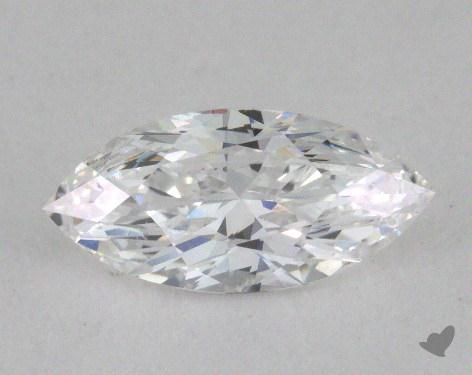 0.50 Carat D-VVS2 Marquise Cut Diamond