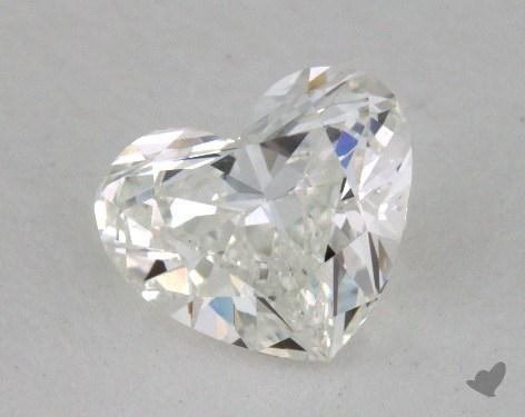 0.70 Carat G-VS2 Heart Shape Diamond