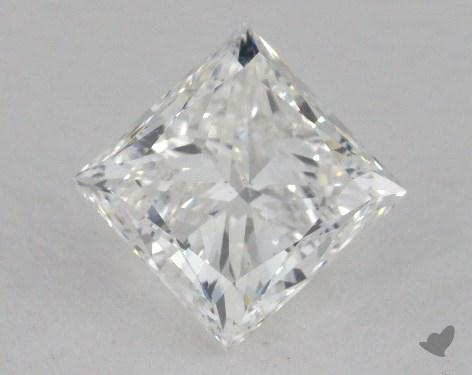1.71 Carat F-SI1 Ideal Cut Princess Diamond
