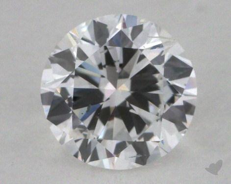 0.70 Carat E-SI2 Good Cut Round Diamond
