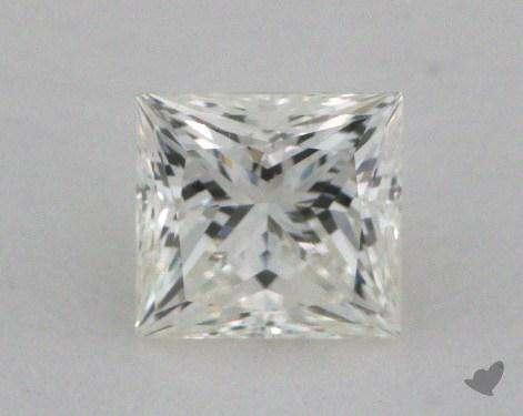 0.58 Carat I-VS1 Ideal Cut Princess Diamond