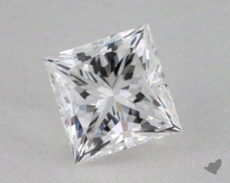 0.52 Carat F-VVS2 Ideal Cut Princess Diamond