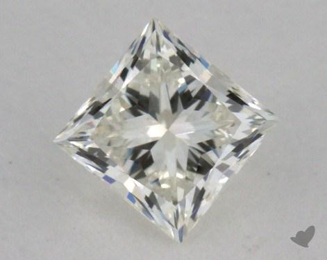 0.62 Carat K-VS1 Very Good Cut Princess Diamond