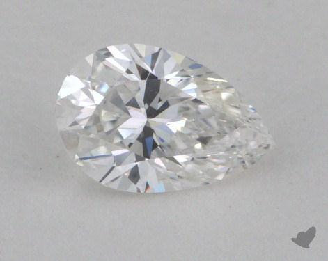 0.35 Carat E-VS1 Pear Shaped  Diamond
