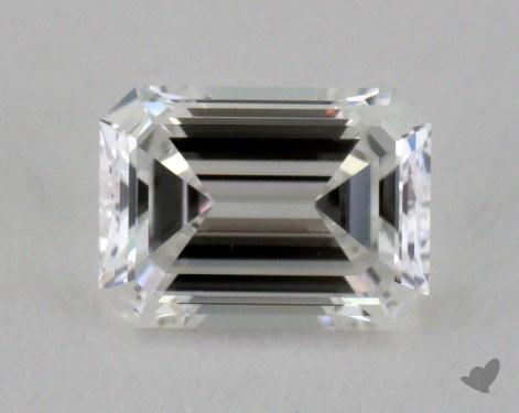 0.49 Carat F-IF Emerald Cut Diamond