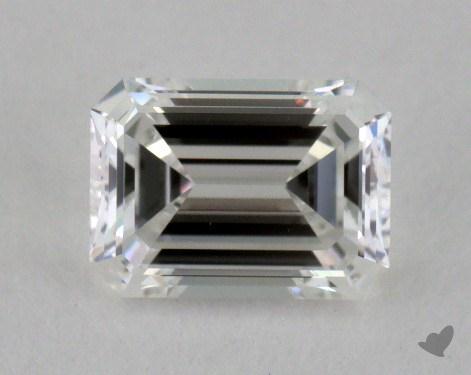 0.49 Carat F-IF Emerald Cut Diamond