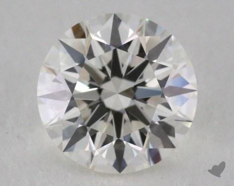 1.03 Carat I-IF Excellent Cut Round Diamond