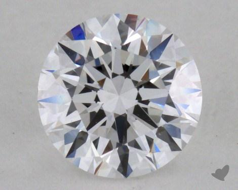0.72 Carat D-VS1 Excellent Cut Round Diamond