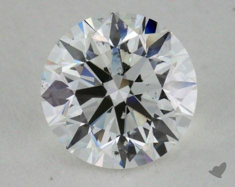 1.51 Carat G-SI2 Very Good Cut Round Diamond